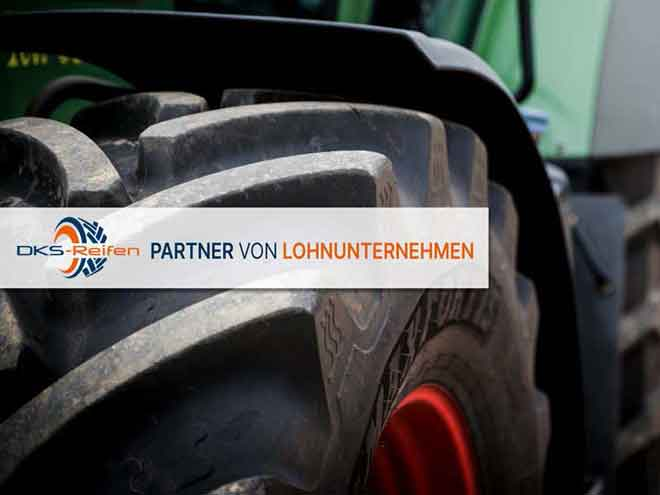 Reifen und Räder für Kleintraktoren und Maschinen