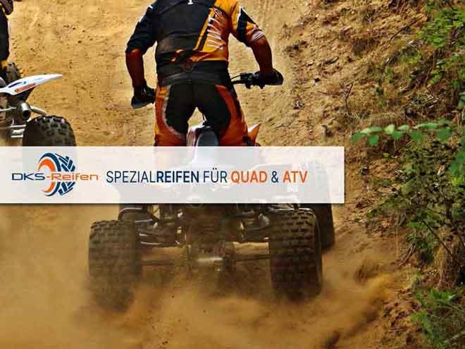 DKS Reifen für QUAD und ATV