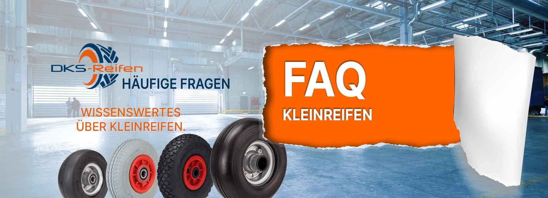 Häufig gestellte Fragen zu Kleinreifen und Kleinrädern: Reifen, Profile, Felgen und Lager
