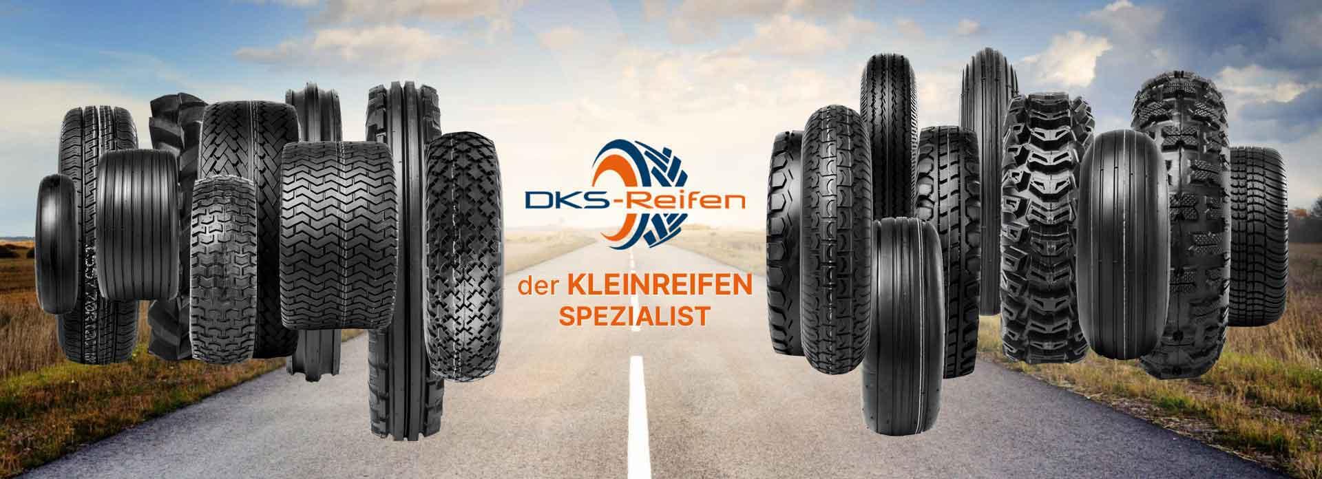 DKS Reifen: Der Onlineshopshop für Kleinreifen und Kompletträder mit ausgezeichnetem Service!