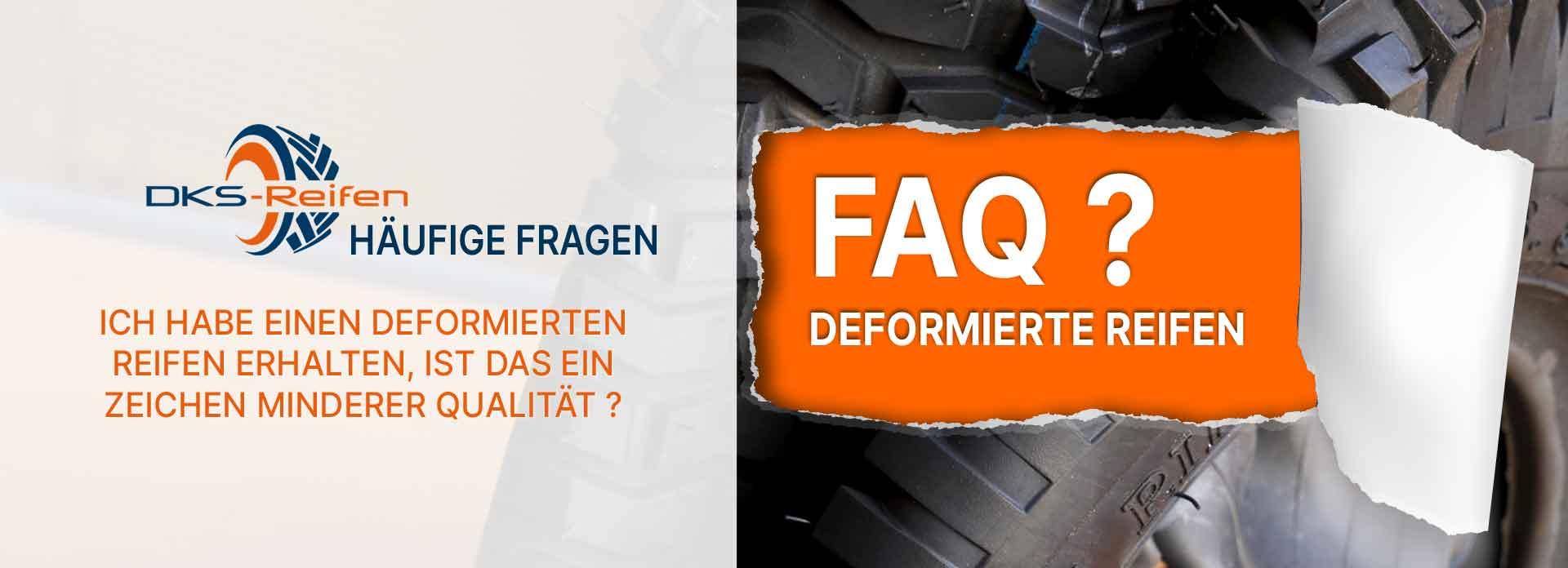 Unförmige Reifen geliefert bekommen? Das ist nicht zwingend ein Zeichen schlechter Qualität