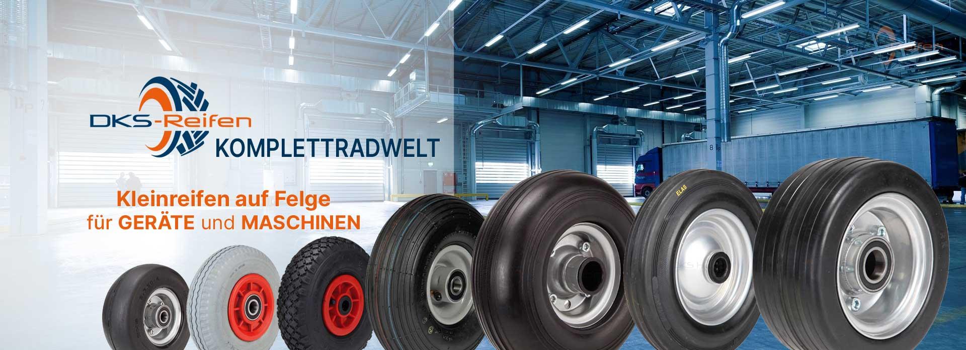 DKS Reifen Online Fachhandel   Kompletträder für Geräte und Maschinen