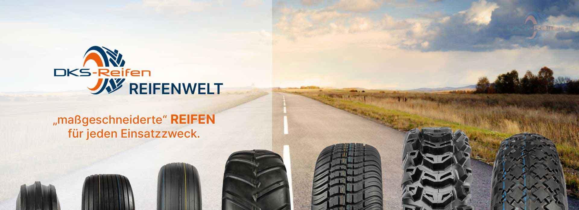 DKS Reifen Online Fachhandel: große Auswahl an Kleinreifen auf der Straße