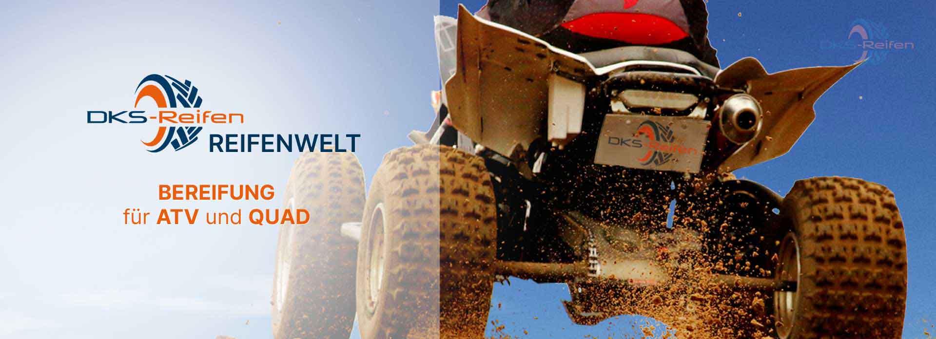 DKS Reifen für ATV und Quad in robuster Qualität und hoher Laufleistung