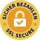 Sicher Bezahlen! Unser Shop ist SSL verschlüsselt.