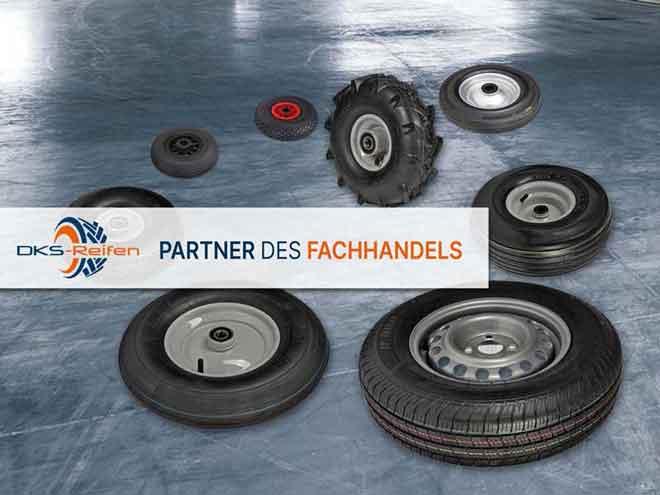 DKS Reifen:  Werkstätten und Fachhandel - heute bestellt, morgen beliefert!