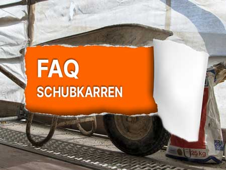 Schubkarren Ratgeber: Reifen, Räder, Felgen und Montage