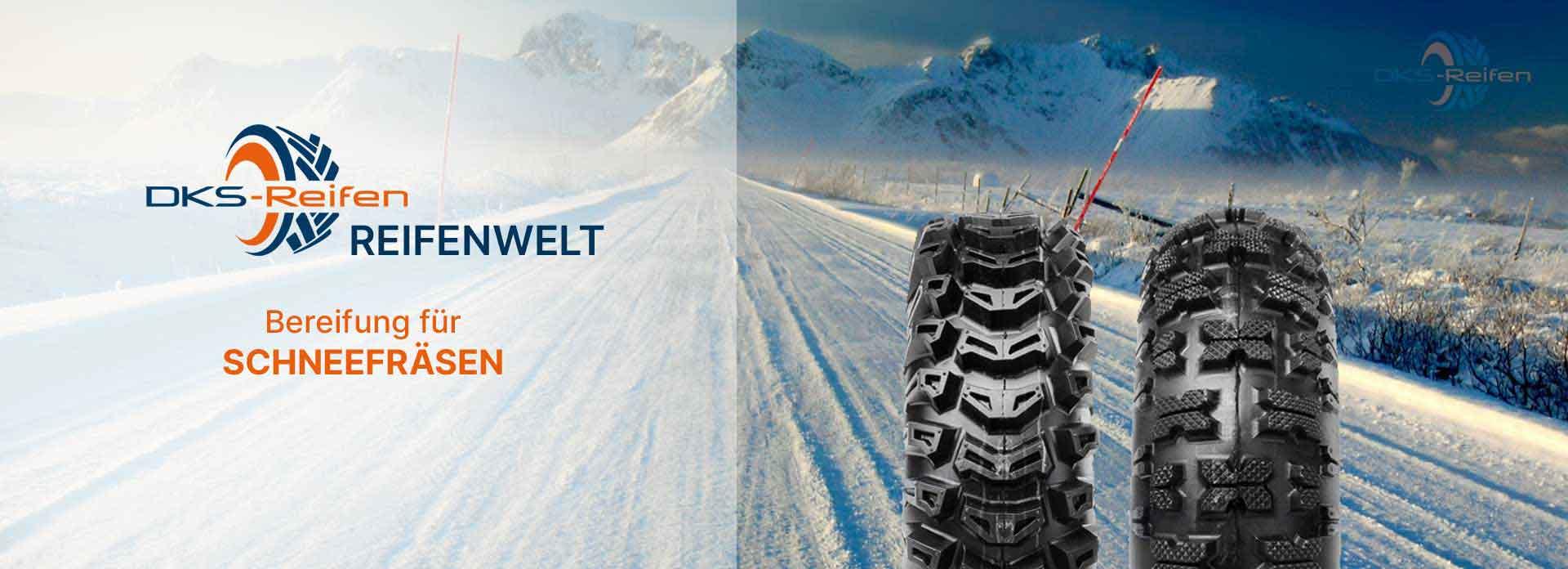 Reifen für Schneefräsen