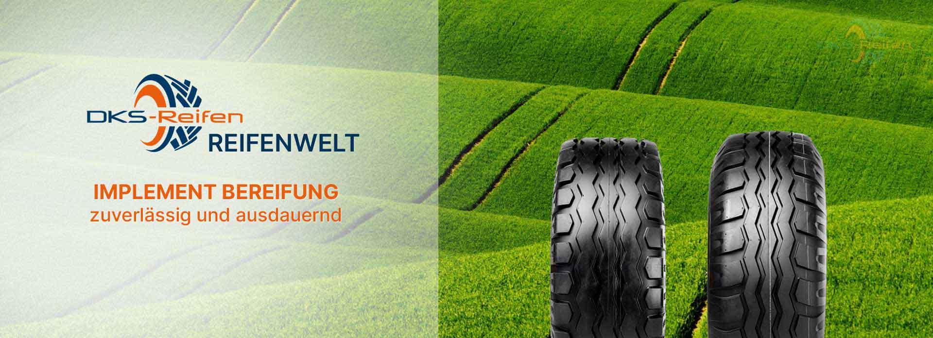 Reifen für Ladewagen und Anhänger in der Landwirtschaft